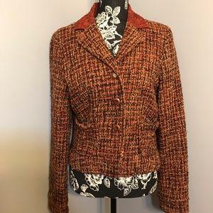 💕Karen Kane Lifestyle wool blend jacket EUC sz m